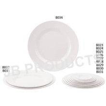 Melamine Round Flat Plate
