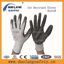 Cut resistant Gloves with PVC Palm Dotted in Different Lengths