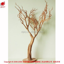 Wooden real looking artificial tree wedding table tree centerpieces
