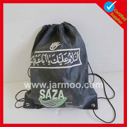 Reusable Durable 210D polyester small cotton drawstring bags