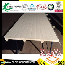 Prefabricated house used SIP panel/polyurethanes sandwich panel/PU sandwich panel for roof