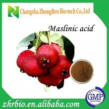 100% Pure natural Maslinic acid 1% 2% 3%hawthorn leaf extract hawthorn berry extract