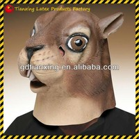 Alibaba Express New Quality Latex Squirrel Animal Head Mask