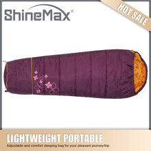 waterproof goose down mummy sleeping bag
