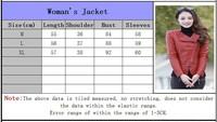 кореянка пу кожаный жакет мода jaqueta косая молния короткие тонкие куртки отворот длинные рукава sa09-115