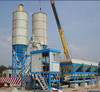 HZS40 fully automatic concrete mixing plant