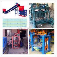 2014 best sale cement brick making machine price in india/concrete interlocking block machine price