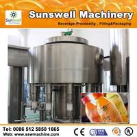 Concentrated Fruit Juice Making Machine / Bottle Juice Filling Machine