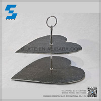 Eco-friendly natural slate cake stand 2015