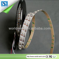 new ws2812 smd smart pixel led flexible strip light full rgb pixel led strip control by single