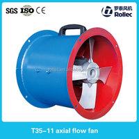 T35-11mine ventilation fan, ac axial fan, hot air fan with ISO 9001 Certificate