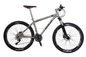 SAVA 26 inç popüler titanyum dağ bisikleti DEORE XT groupset ile katlanabilen MTB ucuz bisiklet