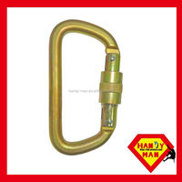 2308SG Screwgate Connecting Devices Steel D Safety Hook