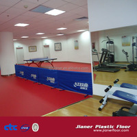 Indoor Usage and PVC Material Luxury pvc flooring in hotel&office