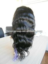 Body wavy Indian Remy Lacefront wig