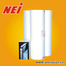 Soft Touch Hot Lamination Film,for offset printing,silk feeling,only matt,35mic,widely used in laminating