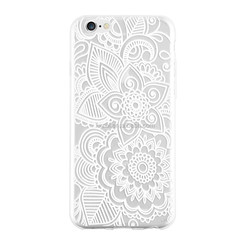 New Different Flower Print TPU Silicone Transparent Shock Proof Phone Case For Apple Iphone 6