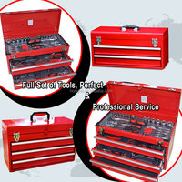 Hongfei Red Tool Boxes with Talks Forms and Truck Bed Tool Boxes with Drawers