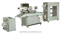 silk screen label printing machine,full automatic label silk screen printing machine