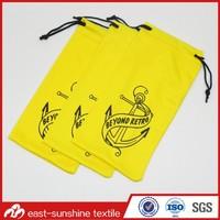 Silkscreen Printing Soft Microfiber Cell Phone Pouch