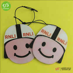 Hot selling car air fresheners/smiley face air freshener/cute car air fresheners