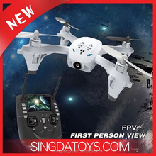 New Arriving!HT F807-FPV 5.8G 4CH 6 Axis Headless Mode RC Quadcopter With 720P Camera 4.3 Inch LCD Screen