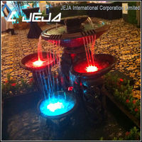 "JEJAHK best quality 3"" led submersible light is suitable for mini fishbowls (top table)"