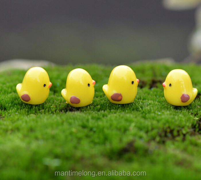 Kinder Spielzeug Schöne Tier Die küken Figurine Garten Puppenhaus ...