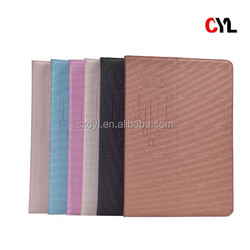 Ultra-thin leather case for ipad 5 / PU leather case for ipad 5 / tablet leather case for ipad 5