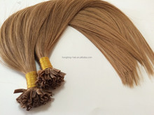 double drawn chinese keratin hair extensions