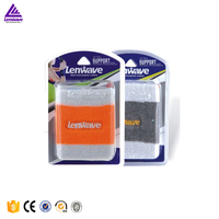 Comfortable absorb sweat Bamboo charcoal cotton sports wrist brace breathable sports wrist support wraps