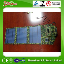 hot sale 5w 10w 20w 30w portable solar mobile phone charger