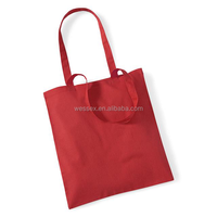 2015 New Cotton Shopping Bags Light Canvas Shoulder Tote Bag Low Price Promotional Shopping Bag