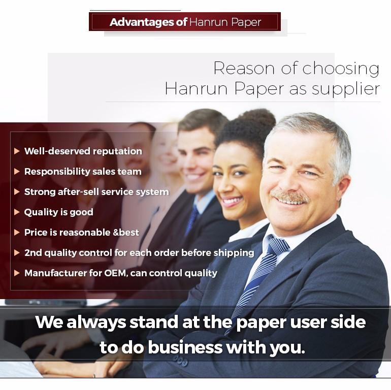advantage of hanrun paper