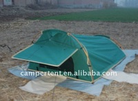 double camping delux dome canvas swag tent