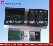 mini 4 ports gsm wavecom modem pool band usb cable at command set