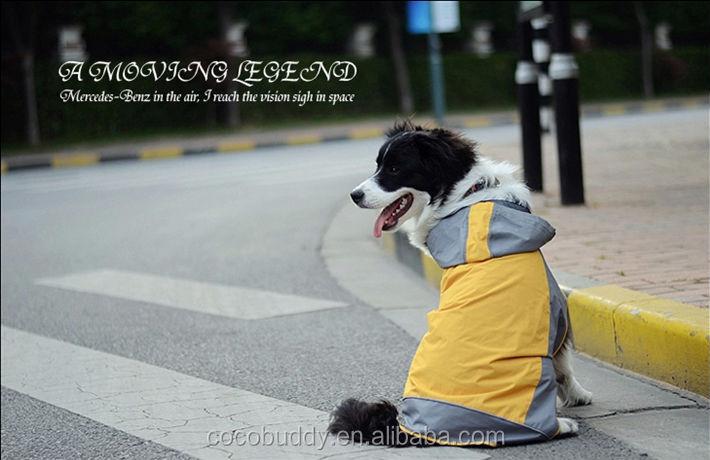 Super waterproof pet raincoats for dogs& Dog raincoats