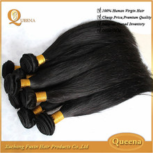 Top Quality Cheap Hair Weave , Wholesale 7A Unprocessed Natural Brazilian Hair Pieces