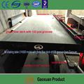 Ouro de lavagem profissional equipamentos de limpeza de minério agitando para vendas do fabricante diretamente