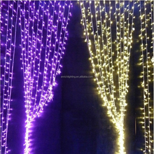 Decoration Colorful led curtain wall light/led light curtain/led light stage curtain
