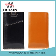 New arrival customized genuine leather bag for iphone 6