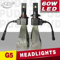 2015 new car bulb 5th generation High power 30W auto 12v car h7 led headlight