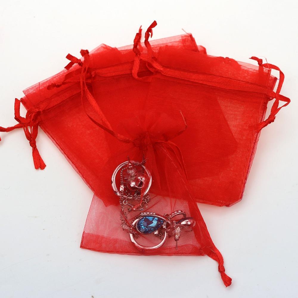 Wholesale cm small bulk fabric organza gift bags