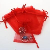 7x9cm Small Bulk Fabric Organza Gift Bags Wholesale,Promotional Christmas Gift Bag
