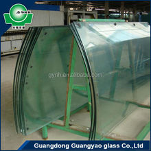 architectural glass hot bending tempered glass