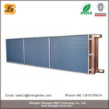Industrial Air cooled copper air conditioner steam condenser coil
