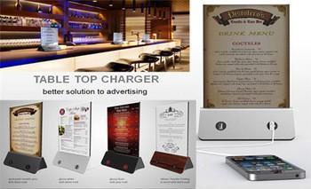 standy menu power bank restaurant power bank 10000mAh (2)