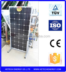 sunpower solar panel 135w monocrystalline from china supplier with low price