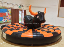 2015 inflatable mechanical bull for sale, Inflatable Bull Fight Mat in Hot Selling,Amusement rides inflatables