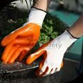 SRSAFETY 13G de tejido de poliéster con guantes de nitrilo color acabado suave
